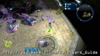 Halo Wars Walkthrough - Beachhead Part 3 HD