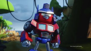 Angry Birds Transformers Comic-Con trailer(At San Diego Comic-Con? Stop by the Hasbro booth to learn more about Angry Birds Transformers! http://rov.io/comiccon., 2014-07-24T12:32:16.000Z)