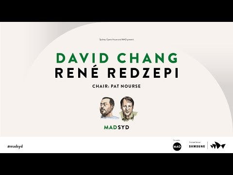René Redzepi and David Chang, MAD SYD