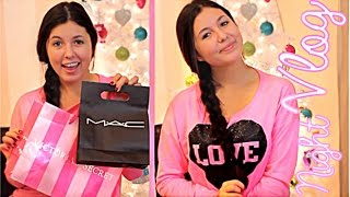 Late Night Vlog! + Mini Haul! VS, MAC, Forever 21, Trendsgal, & More! Thumbnail