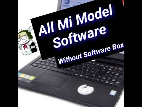 Without Box All Mi Model Software