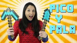 Cómo hacer el pico y la pala de diamante de Minecraft