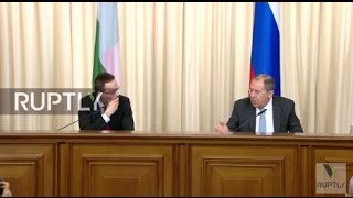 LIVE  Lavrov holds joint press conference with Hungarian counterpart Szijjarto
