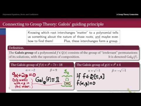 302.7D: What is a Galois Group?