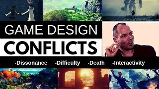 The Main Conflicts of Modern Game Design | Ludonarrative Dissonance, Difficulty and Interactivity