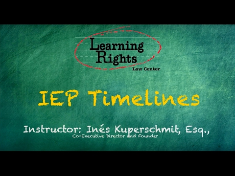 Learning Rights Legal Timelines