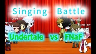 Undertale vs FNaF | Sing Battle! | (GLMM)