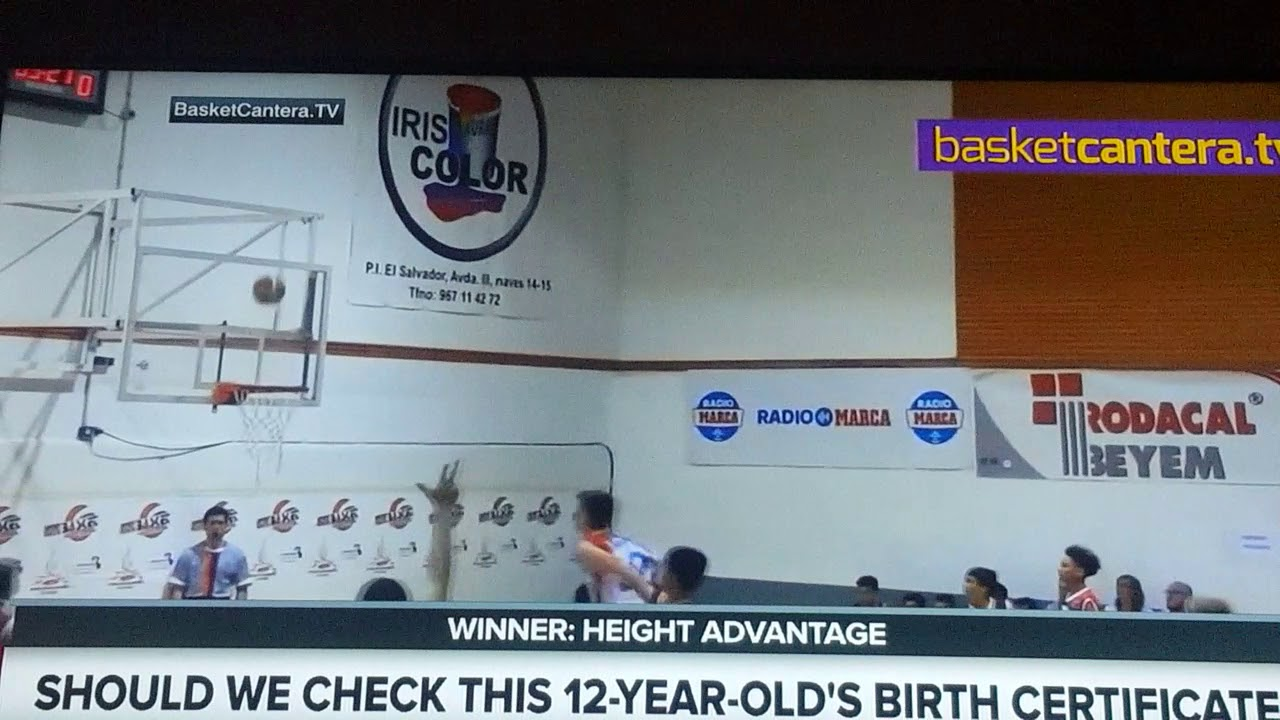 Sportsnation 12 Year Old  Inches Basketball Player