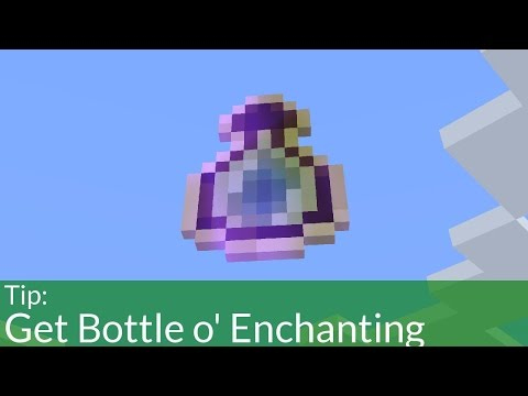 How To Get Bottle O Enchanting In Survival Minecraft Youtube
