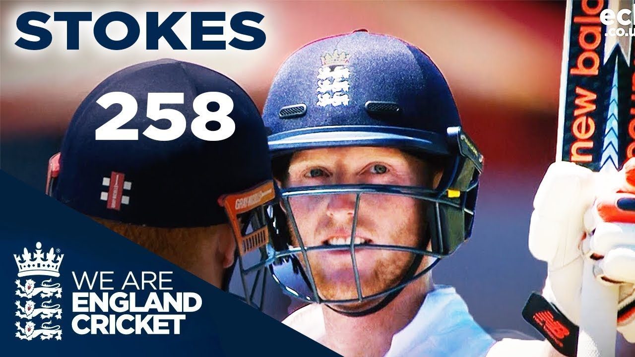 Ben Stokes hits 258 - England v South Africa
