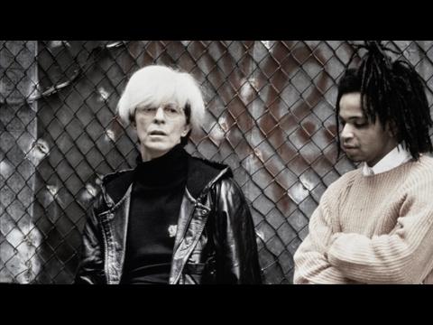 "David Bowie and Julian Schnabel talk ""Basquiat"" on Charlie Rose (1996)"
