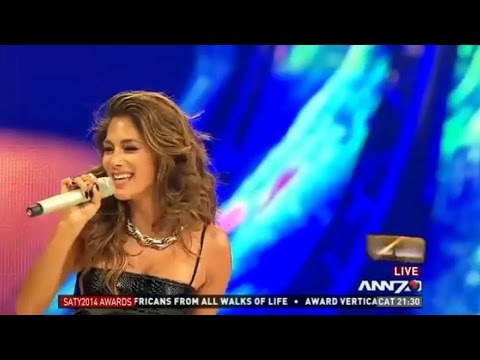 Nicole Scherzinger Live @The South African of the Year 2014 Awards