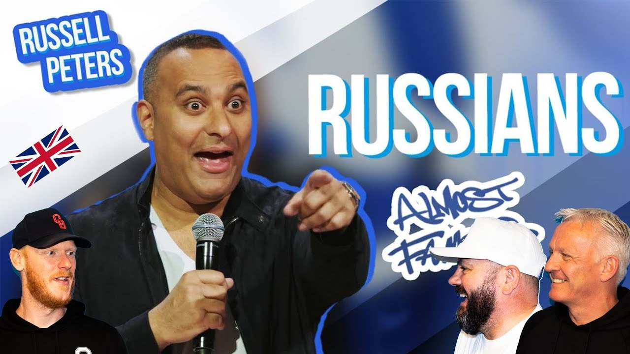 Download Russell Peters - Russians REACTION!!   OFFICE BLOKES REACT!!