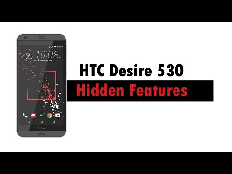 HTC Desire 530 | Hidden Features - YouTube