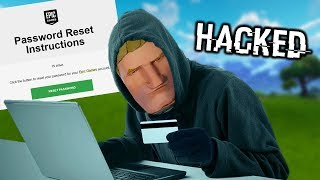 RUSSIAN HACKER STOLE MY FORTNITE ACCOUNT!