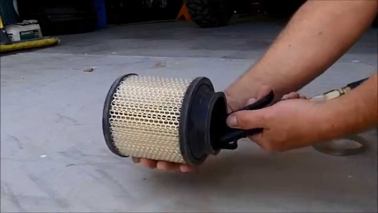 Cleaning a stock air filter - Polaris ATV Forum
