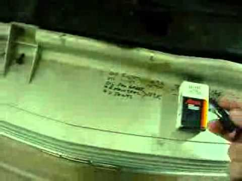 Replace 2000 Chevy Astro Ambient Temp Sensor - YouTube