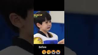 Download Mp3 Korean taekwondo baby kid crying look what happen next lee rowoon