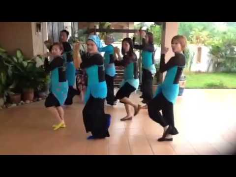 Indonesian song for fun workout with nina mastina Travel Video