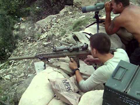 Shooting M110 Sniper System Long Range Youtube