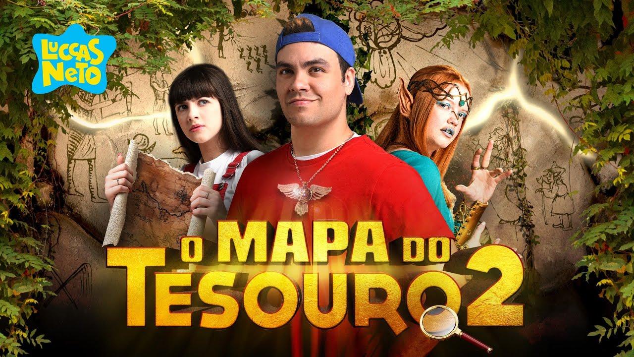 VAZOU CENAS DO FILME O MAPA DO TESOURO 2 DE GRAÇA !!! (NOVO FILME DO LUCCAS NETO)