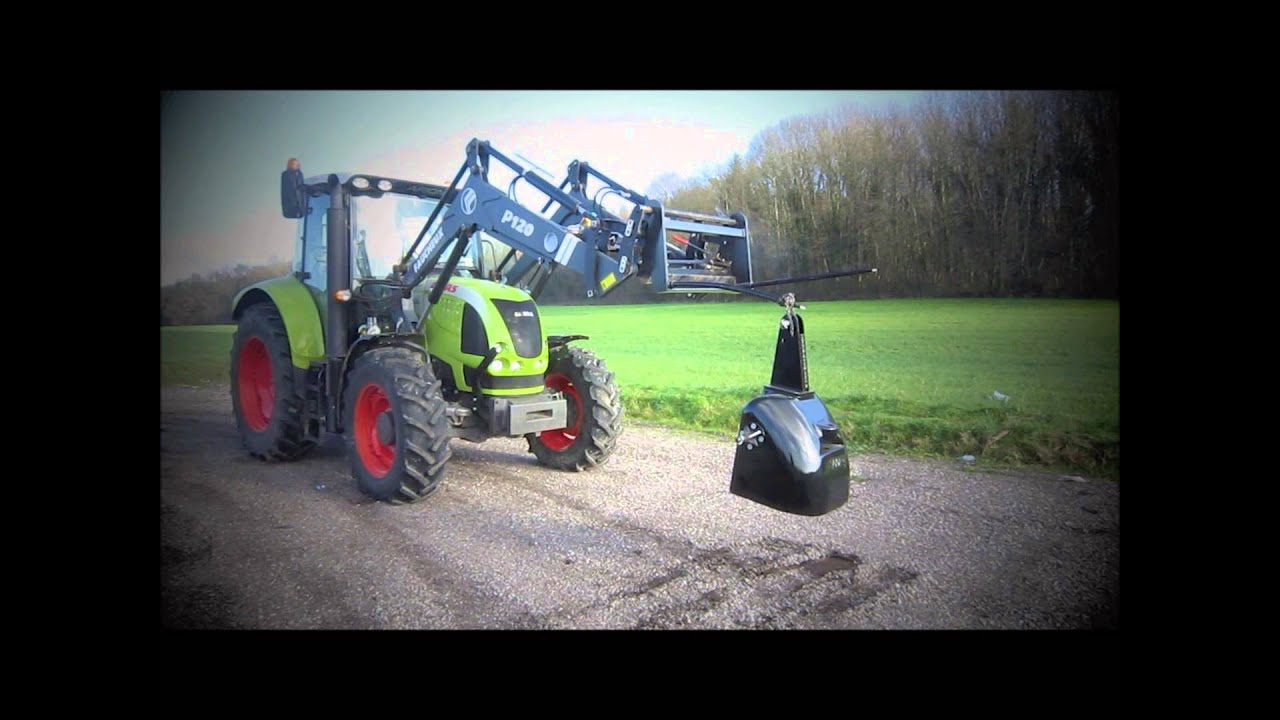 Frontladerzinken agri power kg belastbar youtube