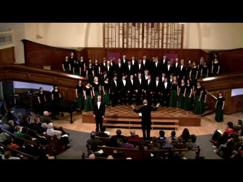 Huron A Cappella Choir - And So It Goes