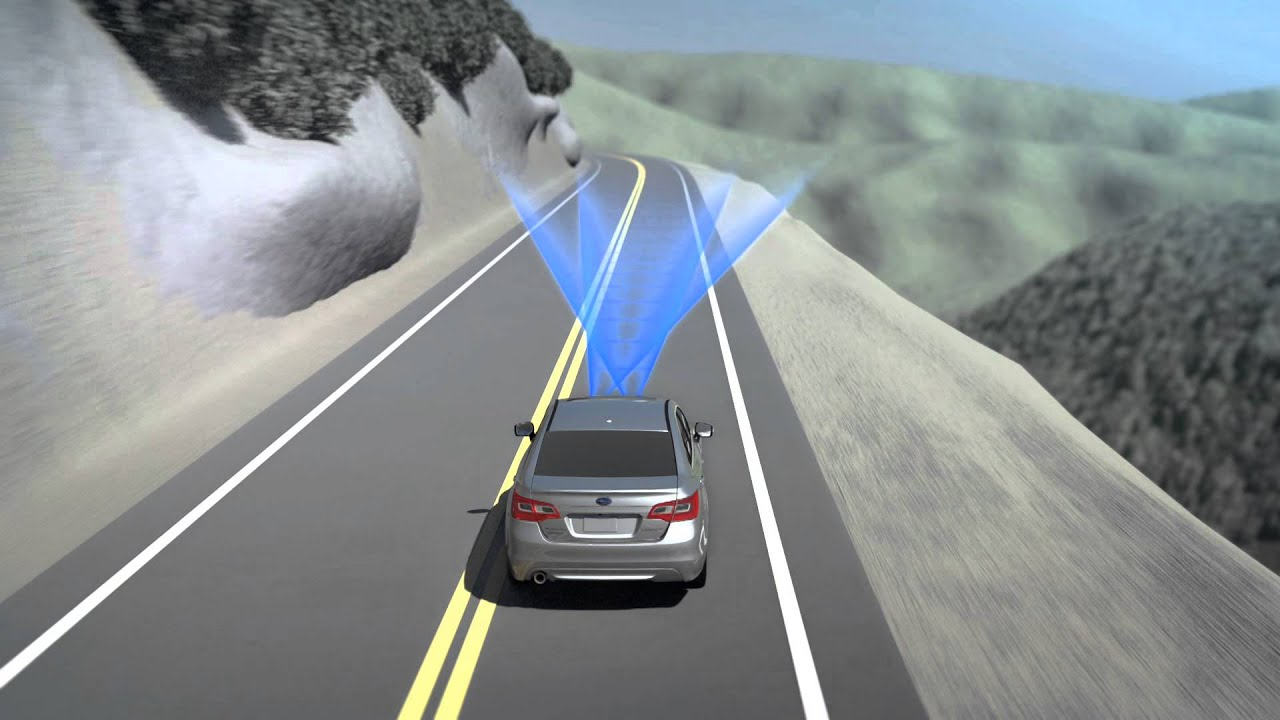 Subaru Eyesight Video >> Subaru Eyesight Advanced Driver Assist System Lane Departure Sway Warning Feature