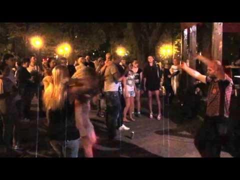 Караоке 6 День города Харьков Сад Шевченко 23 августа 2013 Kharkov karaoke