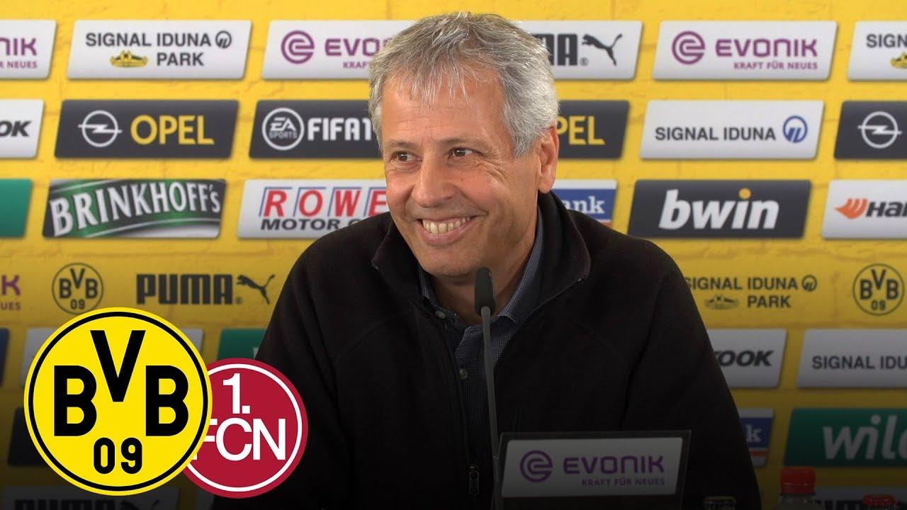 Wie ist die Personallage? | PK mit Lucien Favre | BVB - 1. FC Nürnberg