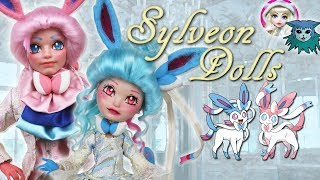 Custom Doll Repaint! Pokemon Sylveon/Shiny - Collab with Dol...