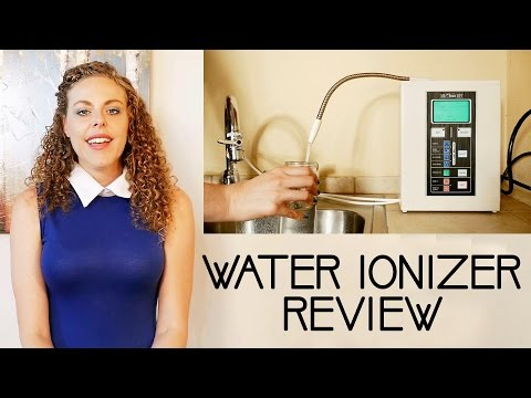 Water Ionizer Review: Air Water Life Ionizer Deluxe 7.0, Ionized Water Uses, Alkaline Water At Home