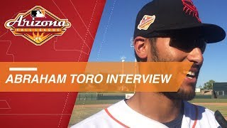 Toro discusses his homer, 2-hit game in Fall League