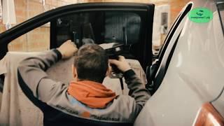 как самому затонировать боковые стекла автомобиля не снимая(Как самому затонировать боковые стекла автомобиля не снимая их и не разбирая обшивку. Все для тонировки..., 2016-03-28T19:48:55.000Z)
