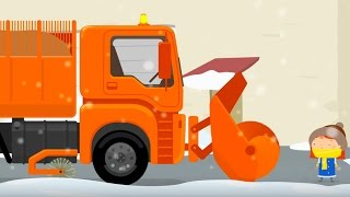 Мультики для детей про машинки. Снегоуборочная машина и Доктор Машинкова(Мультфильм про снегоуборочную машину, которая помогла Доктору Машинковой и роботу Скрепышу освободить..., 2016-02-17T08:26:06.000Z)