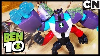 Ben 10 LIVE | Play with all the alien toys | Ben 10 Toys | Toy Play | Cartoon Network