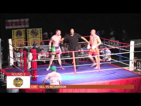 Michael Gill Vs Antony Richardson  iFight Raw&Ready 8th February 2014