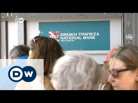Greeks continue to line up at banks | DW News