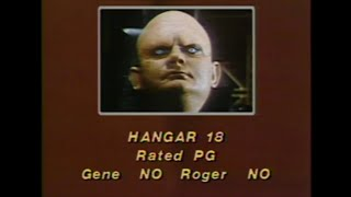 Hangar 18 (1981) movie review - Sneak Previews with Roger Ebert and Gene Siskel