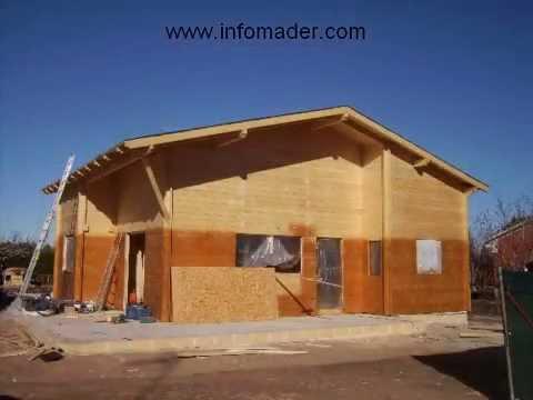 Casas de madera vendemos casas de madera construccion youtube - Infomader casas de madera ...