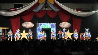 Stingray All Stars Marietta Green L5 Small Juniors Atlanta Battle Under the Big Top Dec 13 2015 Day