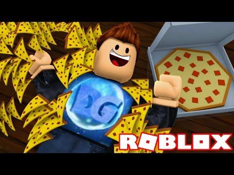 TENGO MILLONES DE PIZZAS EN ROBLOX !! DEGO ES FELIZ