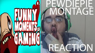 PEWDIEPIE FUNNY MONTAGE - REACTION - MOMENTS GAMES 1 2 3 4 5 BONUS - SCARY 2015 - HIGHLIGHTS