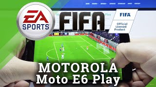 FIFA Mobile Performance Test auf Motorola Moto E6 Play - Grafik- und Soundeffekte
