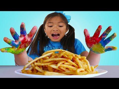 Johny Johny Sí Papa Song | Wendy lavarlas manos y cepillarse los dientes con canción infantil