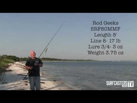 Surf Fishing 101 -Episode # 9, All About Rods with Lou Caruso from YouTube · High Definition · Duration:  6 minutes 57 seconds  · 37.000+ views · uploaded on 23.03.2016 · uploaded by SurfcastersJournal
