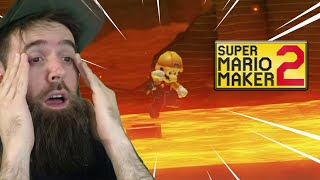 It's One of the Most DIABOLICAL Troll Mazes I've Ever Seen [SUPER MARIO MAKER 2]