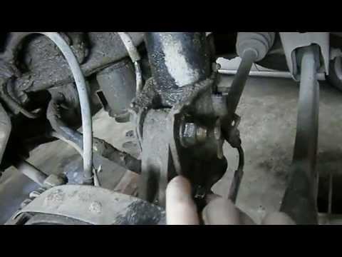 Замена задних амортизаторов Chevrolet Aveo, Lacetti