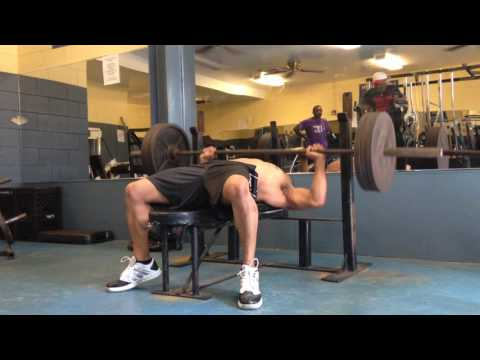 50 Year old Bench Press 315 for reps@183.4 lbs Pt 2