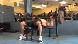 50 Year old Bench Press 315 for reps  @183.4 lbs Pt 2